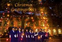 立教女学院からのクリスマスカード